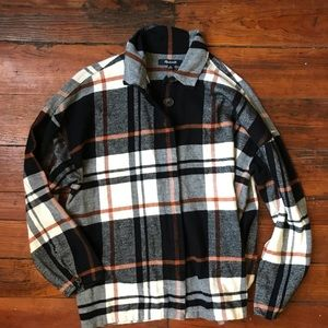 Madewell bromley shirt flannel XS